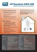 Analogue UMTS gateway 2N® EasyGate UMTS USB - Page 2