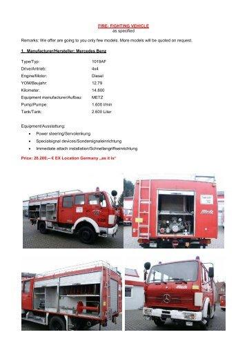 OT - FIRE FIGHTING VEHICLES-1 - Oaktree-ilst.com