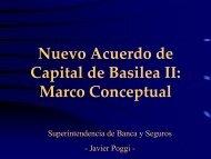 Nuevo Acuerdo de Capital de Basilea II: Marco Conceptual