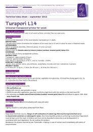 Technical data sheet – september 2012 Universal ... - Solas