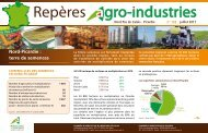 Repères Agro-Industries n°128 - Chambre d'agriculture