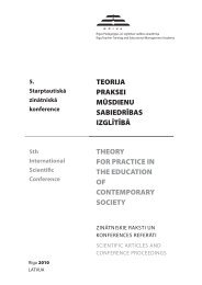 THEORY FOR PRACTICE IN THE EDUCATION OF ... - rpiva