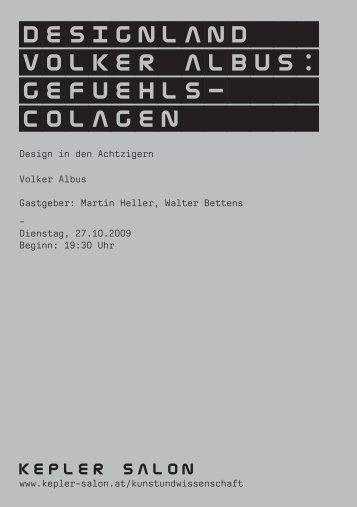 Heft_Albus_20091027.pdf - Kepler Salon