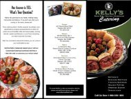 Catering Menu - Kelly's Roast Beef