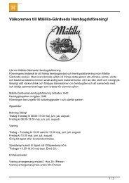 Välkommen till Målillla-Gårdveda Hembygdsförening! - Sveriges ...