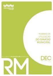 DO GINÁSIO MUNICIPAL - Câmara Municipal de Torres Novas