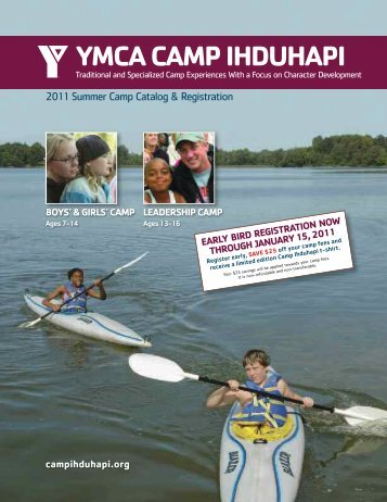 YMCA CAMP IHDUHAPI - YMCAs