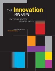 The Innovation Imperative - Edge International