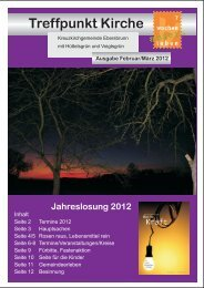 Termine 2012 - Ev.-Luth. Kirchgemeinden Ebersbrunn und Hirschfeld