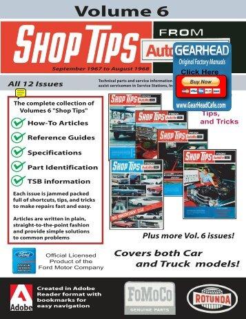 DEMO - Ford Shop Tips - Volume 6 - ForelPublishing.com