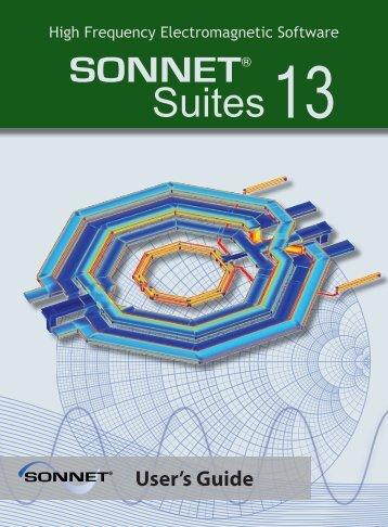user's guide - Sonnet Software