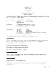 Page 1 of 10 MINUTES OF THE June 3, 2013 Regular Meeting of ...