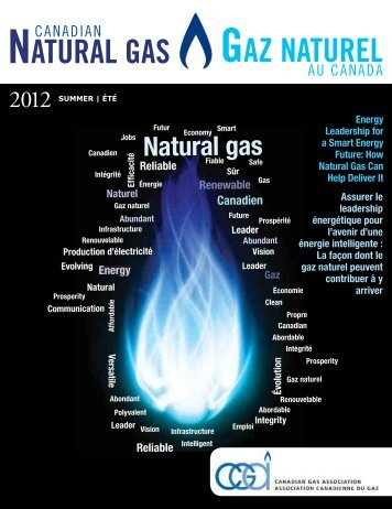 NATURAL GAS GAZ NATUREL - Canadian Gas Association