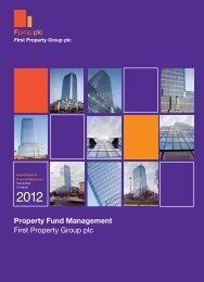 Annual Report 2012 - First Property Group plc