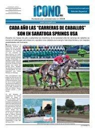 """""""carreras de caballos"""" son en saratoga springs usa"""