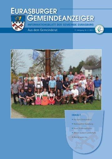 Nr. 2/2013 - Gemeinde Eurasburg