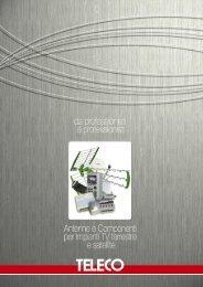 Catalogo Antenne e Satellitare (pdf) - Teleco