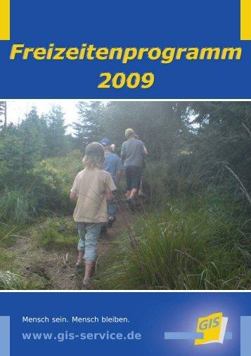 Freizeitprogramm 2009 - bei der gGIS mbH