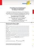 Freizeitprogramm 2009 - bei der gGIS mbH - Page 7