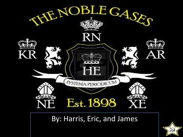 Noble Gases - Nichols School