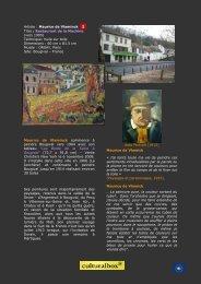 Fiches de Vlaminck à Bougival