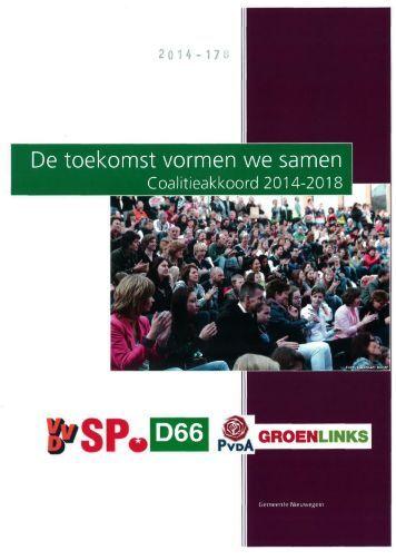 2014-178 Coalitie akkoord 2014-2018