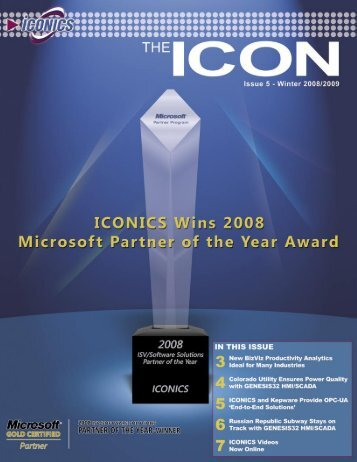 ICONICS - The ICON - Winter 2008/2009 - ICONICS UK Ltd