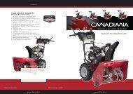 CANADIANA Schneefräsen 2012/2013 - D. Kendt Motorgeräte