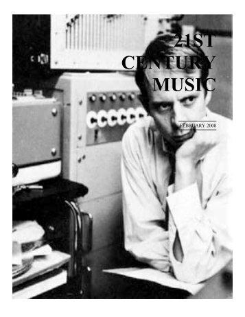 February - 21st Century Music