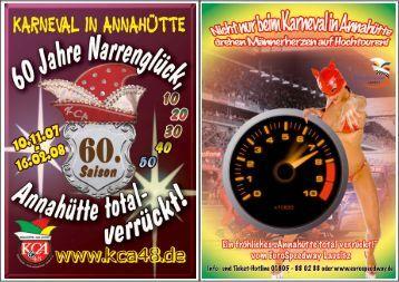 60. Saison - Karneval-Club  Annahütte 1948 e.V.
