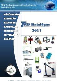 TRD Katalógus 2011 megtekintése