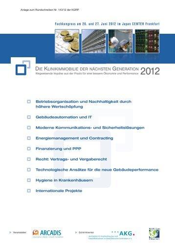 Fachkongress 26. und 27.06.2012 in Frankfurt - VdPK
