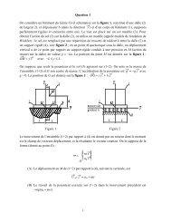 Génie mécanique - Concours ENSEA