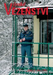 ročník 14 • číslo 1/2006 - Vězeňská služba ČR
