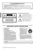 XP7000 Owner's Manual - Sonic Sense Sonic Sense - Page 2