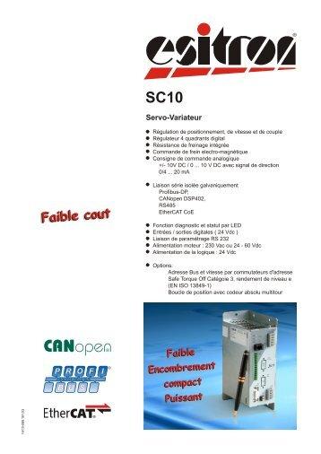 SC10 - esitron