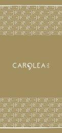Carolea Spa Treatments - Kempinski Hotels