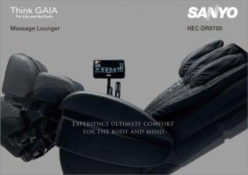 HEC-DR8700 Massage Lounger
