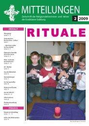 Rituale - Erzdiözese Salzburg