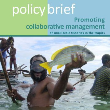 Policy Brief - Wildlife Conservation Society