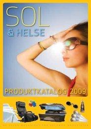 Sol og Helse Produktkatalog 01/09 - Velvære-Grossisten AS