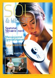 Sol og Helse 02/08 - Velvære-Grossisten AS