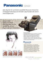 Panasonic Sensei produktblad - Velvære-Grossisten AS
