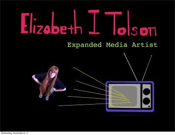Expanded Media Artist - Interface Studio - Fall 2011