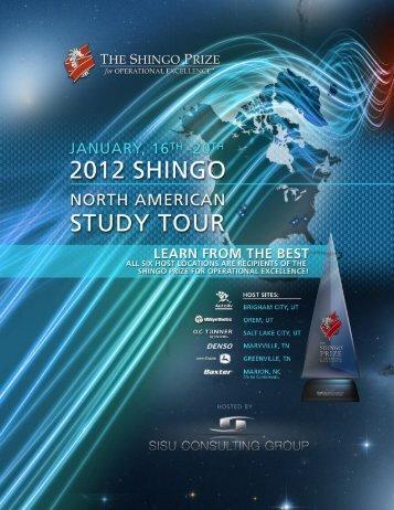 SISU Shingo Tour.indd - The Shingo Prize