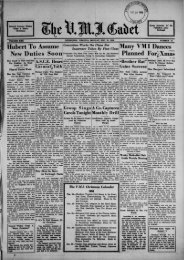 The Cadet. VMI Newspaper. December 21, 1936 - New Page 1 ...