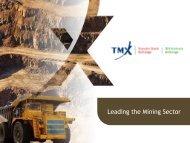 Leading the Mining Sector - ADIMB