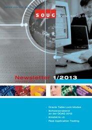Newsletter 1/2013 - SOUG