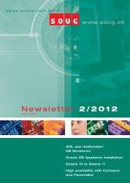 Newsletter 2/2012 - SOUG