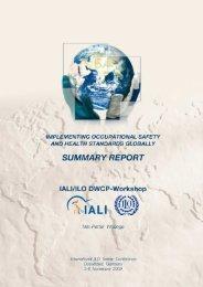 IALI/ILO DWCP workshop-summary report - International Safety and ...